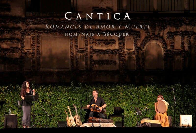Romances de Amor y Muerte. Homenaje a Bécquer en el Alcázar de Sevilla