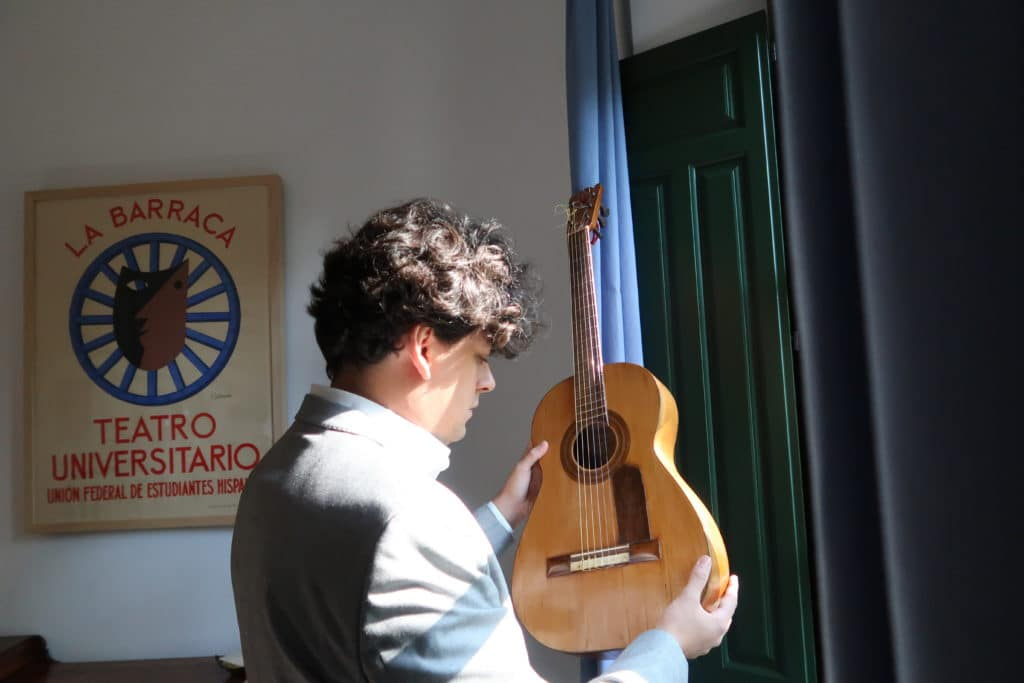 Samuel Diz ofrece un concierto con la guitarra original de Federico García Lorca