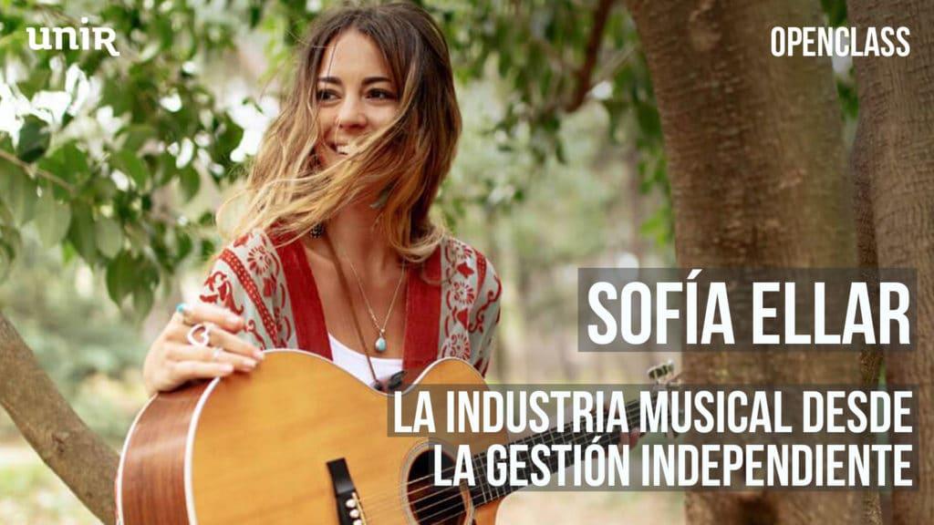 Sofía Ellar y la gestión independiente en la industria musical