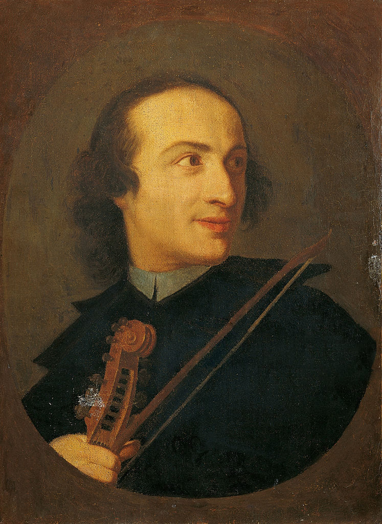 Retrato de Giuseppe Tartini