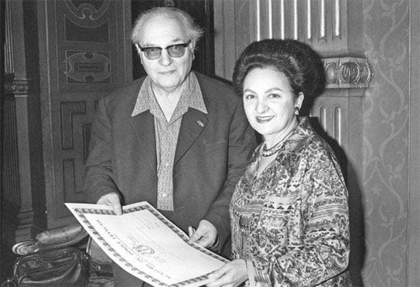 Yvonne Loriod con Olivier Messiaen