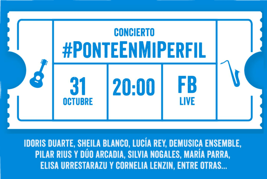Concierto de Mujeres contra el Acoso Online #PonteEnMiPerfil