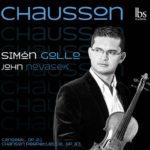 Chausson Simón Gollo, violín John Novacek, piano