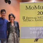 M.ª Ángeles Zapata y Lorenzo Cutillas, directores artísticos de MOMUA © Miriam Garlo