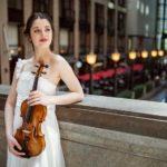 La violinista María Dueñas, Premio 'El Ojo Crítico' de RNE de Música Clásica