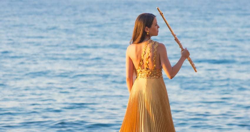 Elisabet Franch flautista