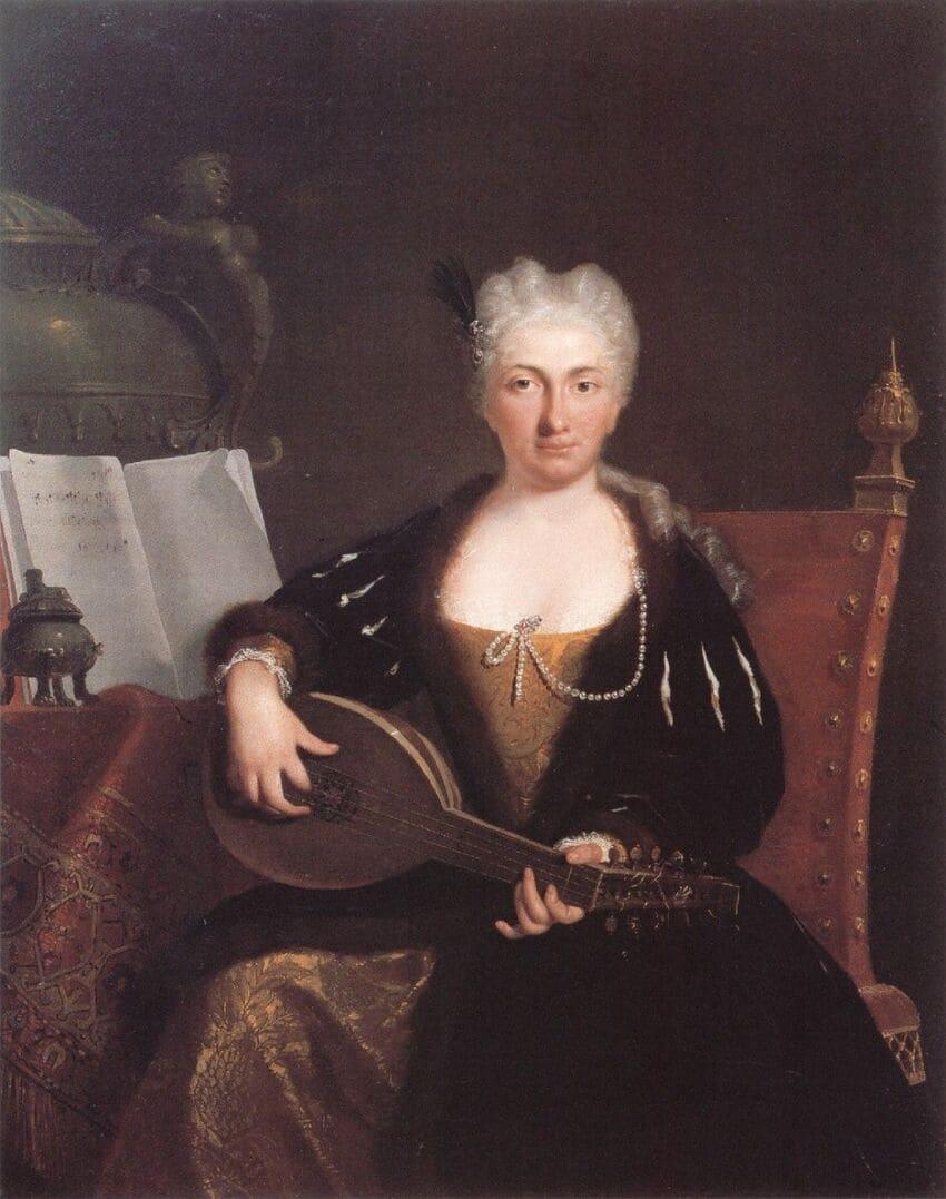 Faustina Bordoni por Bartolomeo Nazari