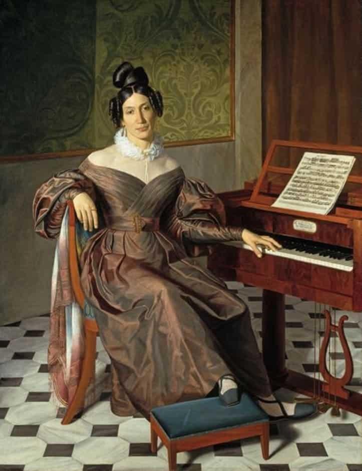 Isabel Colbrand por Johann Baptist Reiter, ca. 1835