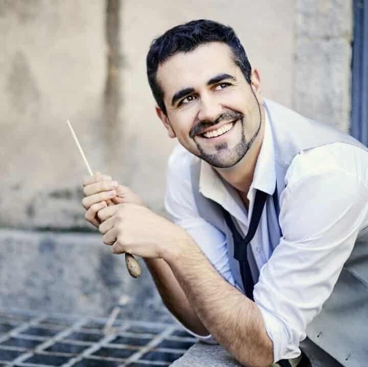 Diego Martin-Etxebarria y la OBC graban para Sony Classical