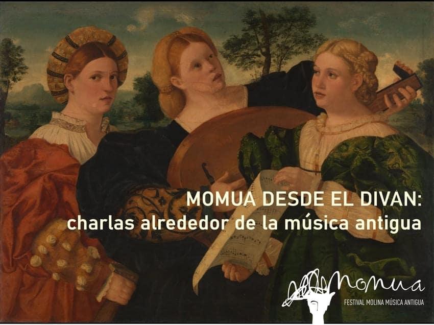 MOMUA DESDE EL DIVÁN charlas en torno a la música antigua