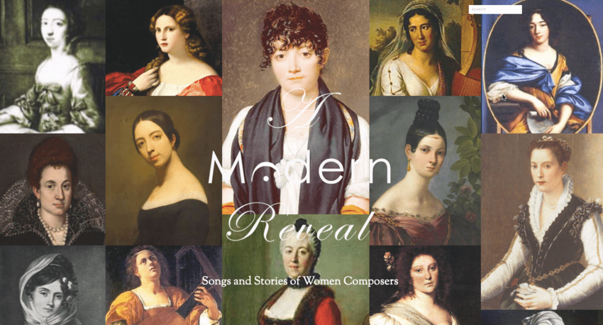 Mujeres compositoras A Modern Reveal: Songs and Stories of Women Composers