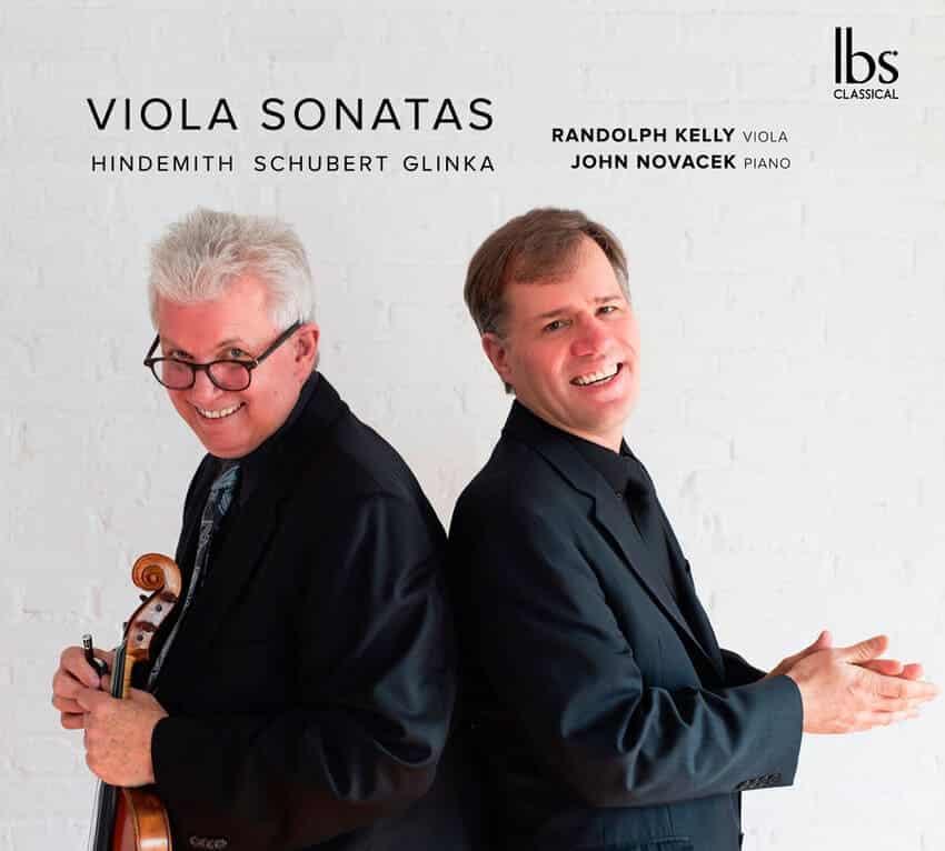 Viola Sonatas: Hindemith, Schubert, Glinka