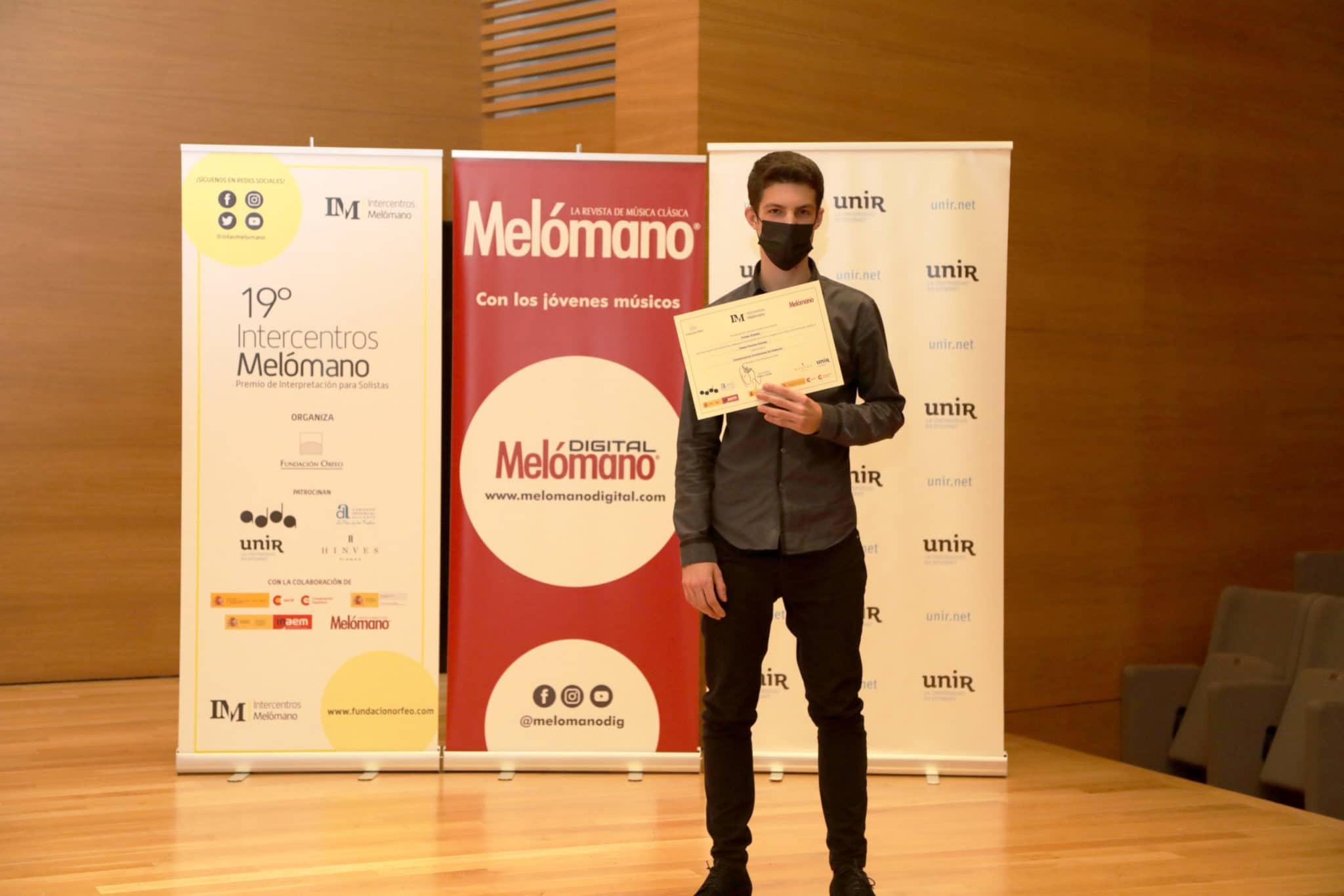 Diego Pajares Espiga, Primer Premio de Grado Profesional