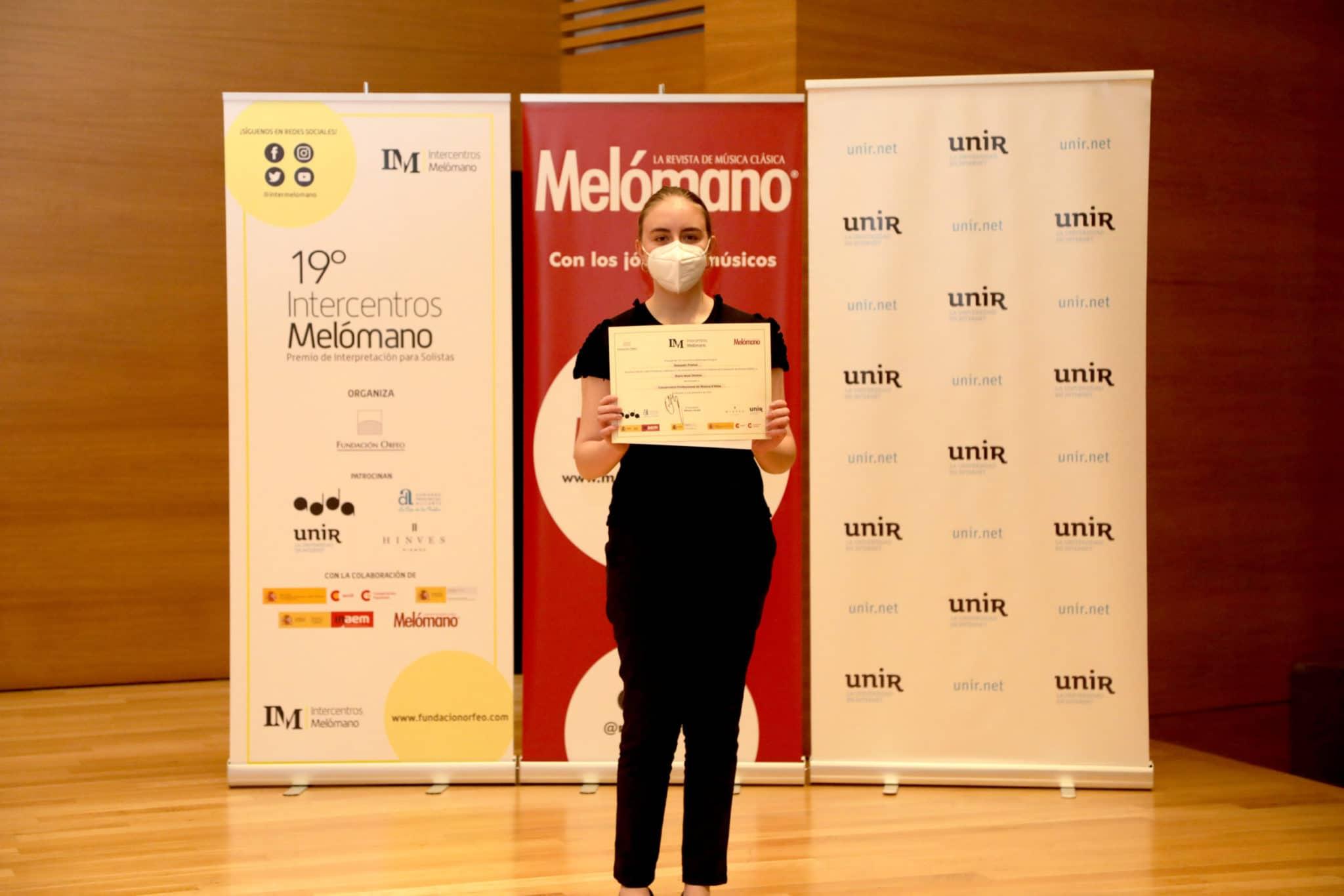 María Igual Devesa, Segundo Premio de Grado Profesional