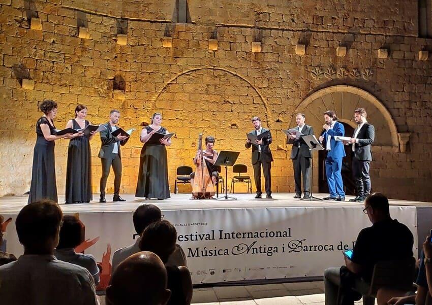 Amystis en el Festival Internacional de Música Antigua y Barroca de Peñíscola (2019)
