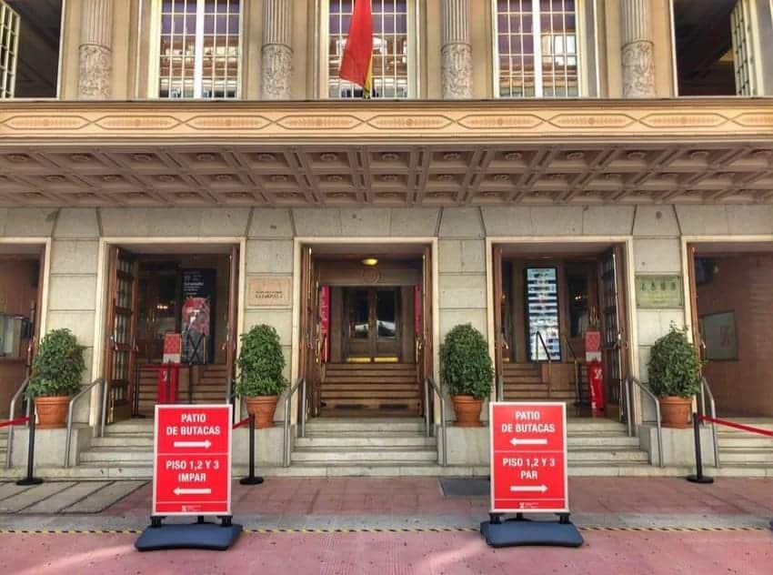 El Teatro de la Zarzuela resiste a la pandemia