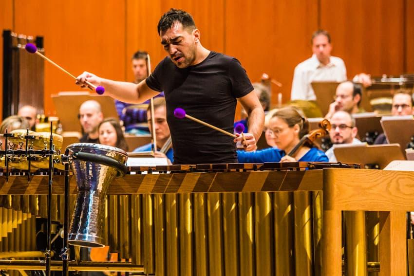 GUIA DE ORQUESTA percusión orquesta
