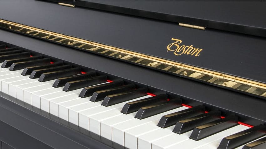 Boston designed by Steinway & Sons Hinves Pianos