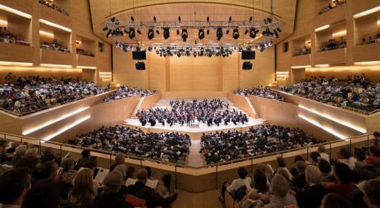 L'Auditori amplía a 1.000 espectadores su aforo a partir de hoy