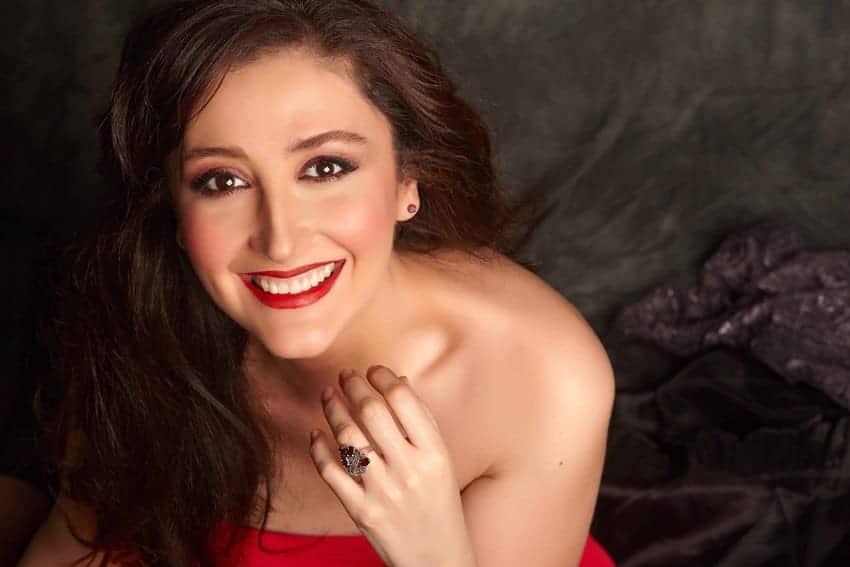 María José Montiel regresa este sábado a Tenerife con una gala operística