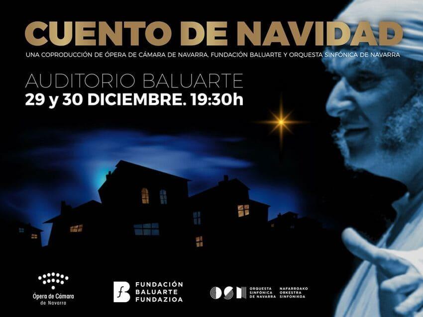 Ópera de Cámara de Navarra vuelve a los escenarios con 'Cuento de Navidad'