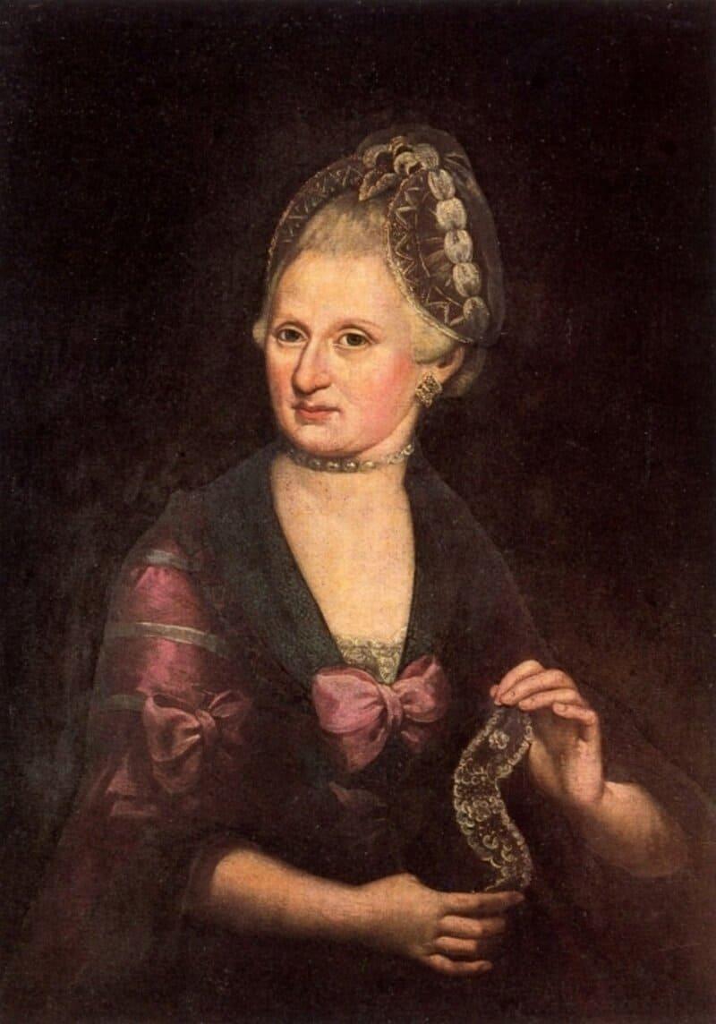 Anna Maria Mozart, por Rosa Hagenauer-Barducci. © Fundación Internacional Mozarteum