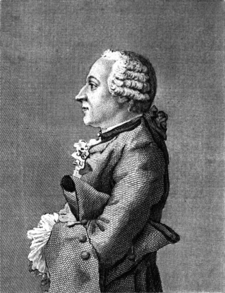 Melchior Grimm, autor desconocido.