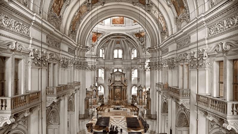 Catedral de Salzburgo.