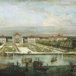 Palacio de Nymphenburg, Múnich, por Bernardo Bellotto (ca. 1761).