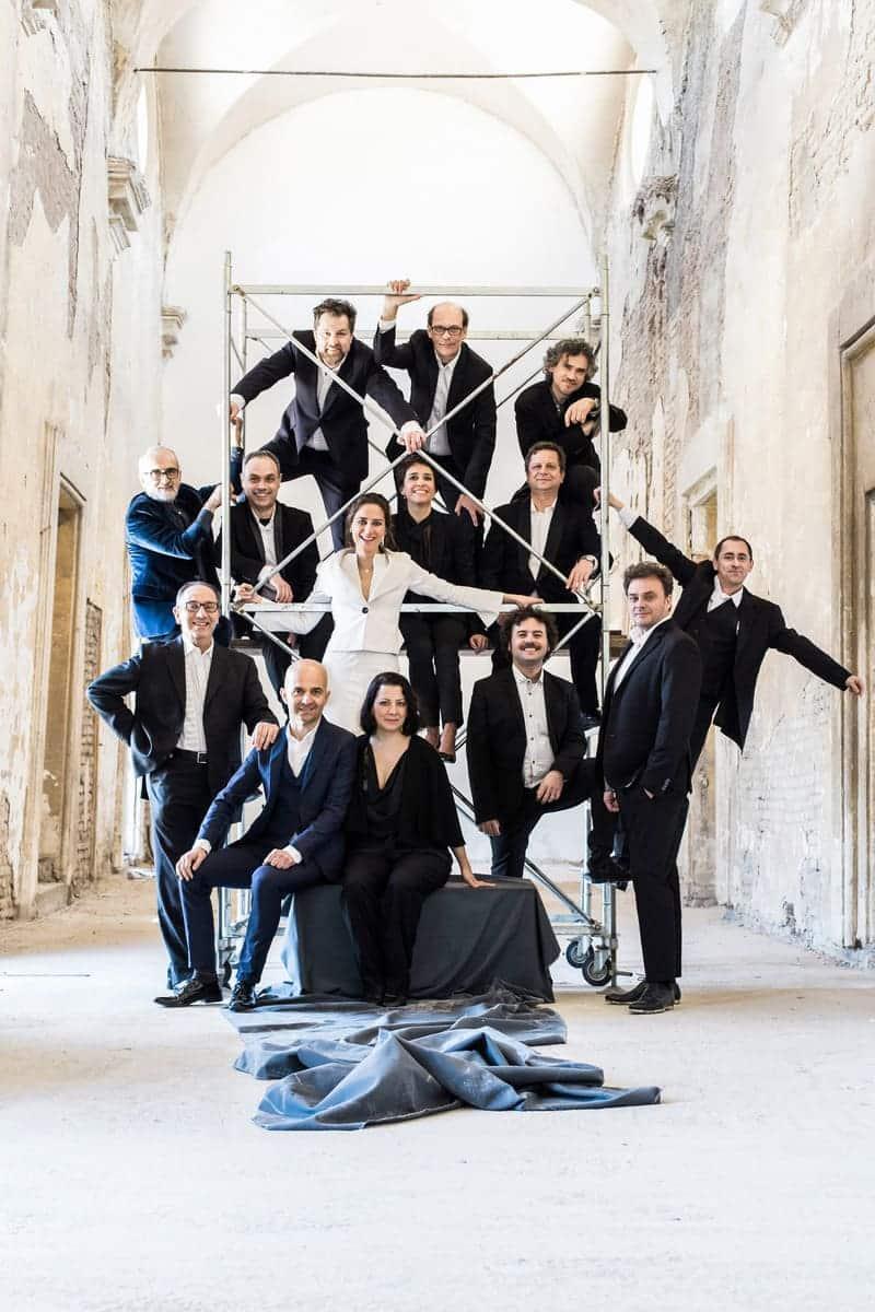 Accademia Bizantina, Ottavio Dantone y Delphine Galou © Giulia Papetti