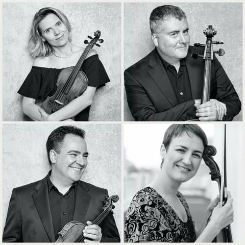 El Cuarteto Bretón con Miguel Trápaga en Torrelodones
