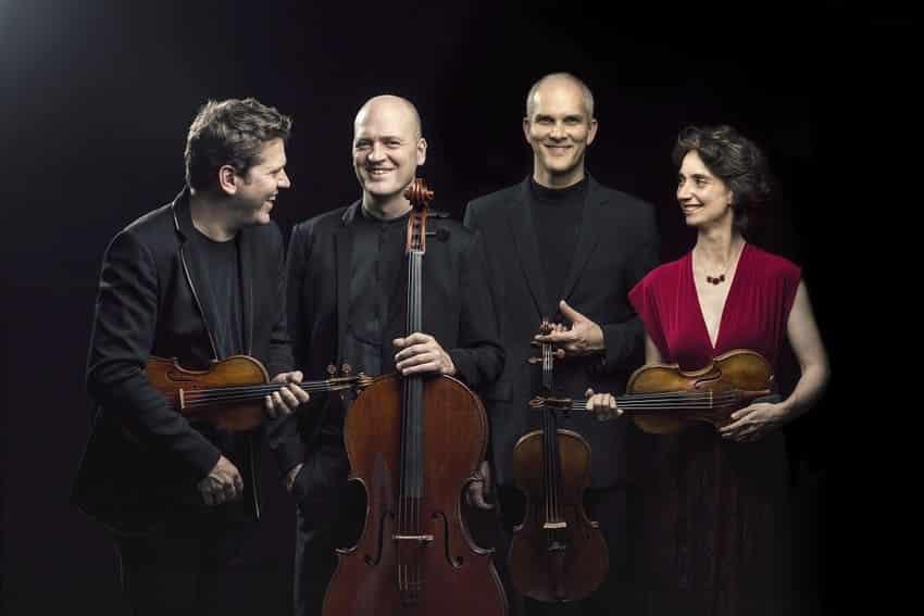 El Cuarteto Casals y Juan Pérez Floristán sustituyen al Cuarteto Doric y a Benjamin Grosvenor en el Auditorio Nacional