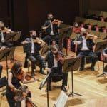 El Ensemble de Cuerda de la OFGC actúa en la Sala de Cámara del Auditorio Alfredo Kraus