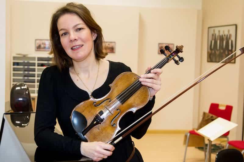 violín María Saiz San Emeterio