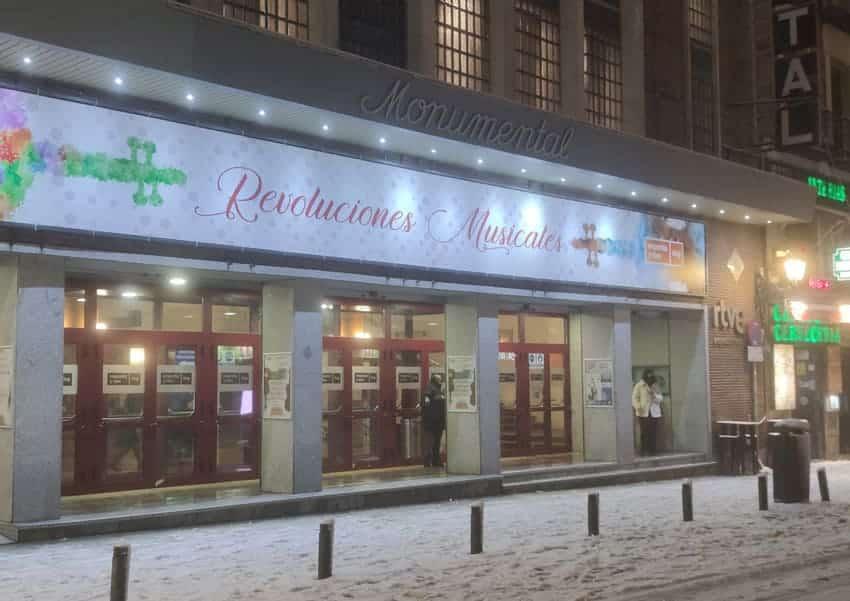 La Orquesta y Coro RTVE cancela su concierto de esta semana por el temporal de nieve en Madrid
