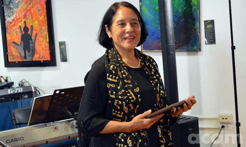 Costa Rica Mujeres música  Ana Isabel Vargas Dengo
