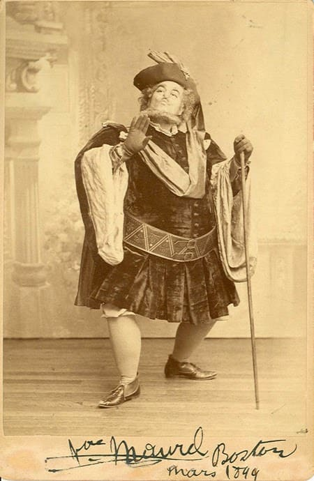 Victor Maurel como Falstaff