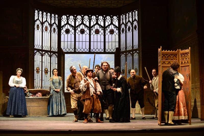 Falstaff, producción de la Showa University of Music