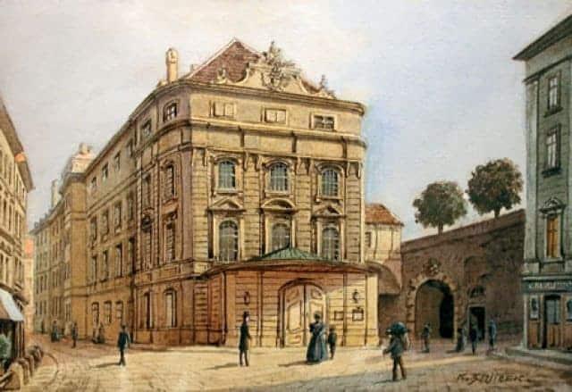 Kärntnertortheater de Viena.