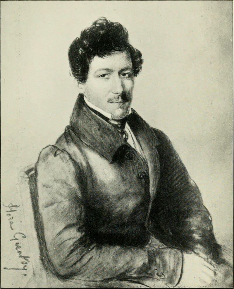 Manuel García como Otelo en París