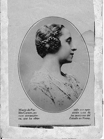 María de Pablos compositora