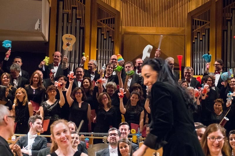 Vuelve 'Música y Juguetes', la propuesta anual de la Orquesta Metropolitana