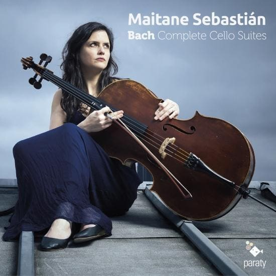 Bach Complete Cello Suites Maitane Sebastián, violonchelo