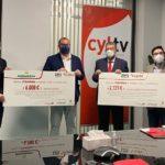 La JOSVa entrega 8.200 € a Cáritas-Castilla y León