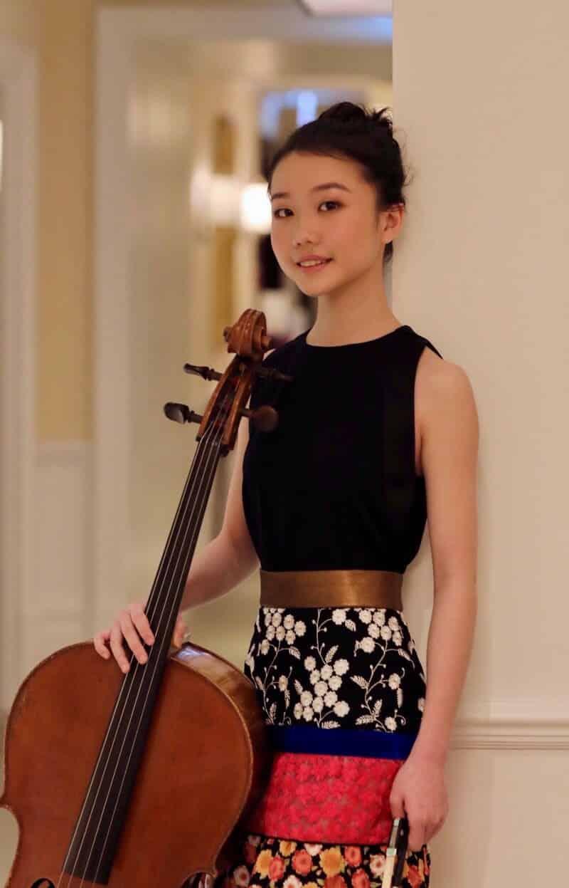 Xuanhan Xu ganadora del Galardón Pablo Casals 2020