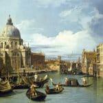 Entrada al Gran Canal de Venecia, de Canaletto (1730)