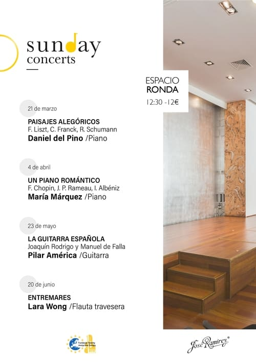 Sunday concerts Espacio Ronda Madrid