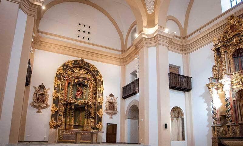 Iglesia de San Torcuato de Guadix donde se harán los conciertos de cuaresma