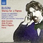 Busoni. Works for 2 Pianos