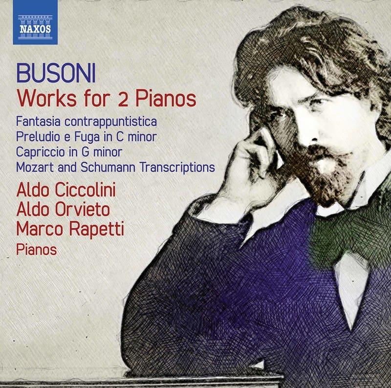 Busoni. Works for 2 Pianos